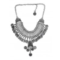 Tribal Ethnic Coin Fashion Necklace