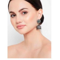 Silver Plated Brass Jhumka Earrings