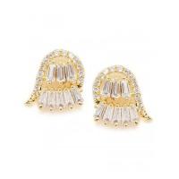American Diamond Fist Stud Earrings