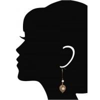 Royal Pearl Banyan Handmade Jewellery Earrings
