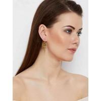 Golden Sunflower Earrings