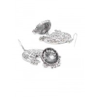 Handmade Embellished Tribal Jewellery Jhumki Earrings