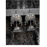 Handmade Embellished Tribal Jewellery Jhumki Earrings