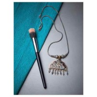 Exquisitely Handcrafted Floral Motifs Oxidized Tribal Jewellery Fashion Necklace