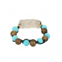Colorful Glass Beaded Handmade Jewellery Bracelet For Women and Girls