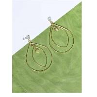 Elegant Golden Dangle Earrings For Women
