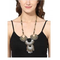 Bohemian Traditional Silver Fashion Necklace for Women