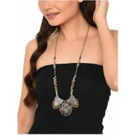 Pablo Traditional Long Beaded Fashion Necklace