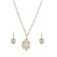Minimalist Gold Plated Subtle Hints Fashion Necklace Set