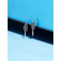 Classic Starfish Oxidized Earrings