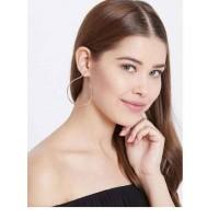 Golden Open Hoop Earrings