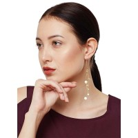 Whispers of Valley Brass Plated 9 to 5 Office Wear Jewelllery Earrings