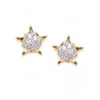 Combo of Two America Diamond Stud Earrings