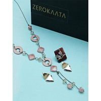 Set of Cotemporary Necklace and Earrings