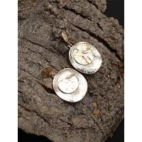 Lightweight Vintage Coin Dangle Earrings