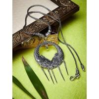 Hanging Swords Antique Tribal Jewellery Statement Necklace