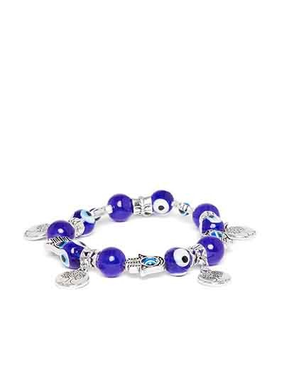 Blue Tree Artificial Charm Bracelet