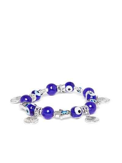 Blue Tree Artificial Charm Bracelet