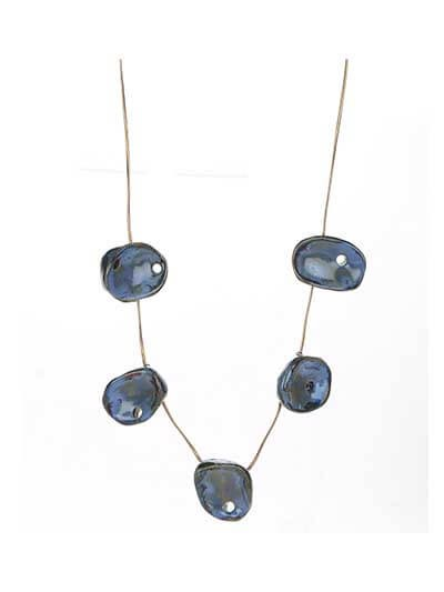 Cool Cobalt Statement Necklace