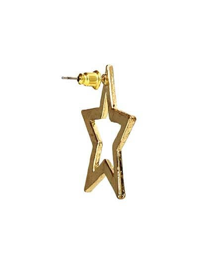Like a Star Studs Western Earrings