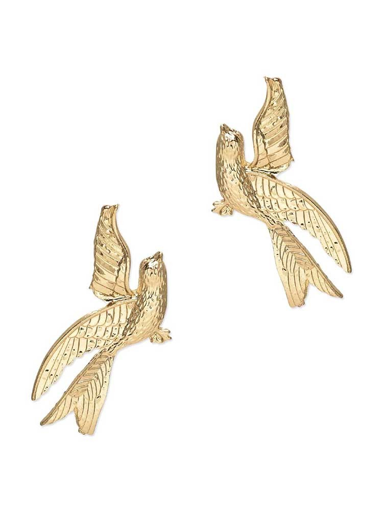 Flight of Freedom Stud Western Earrings