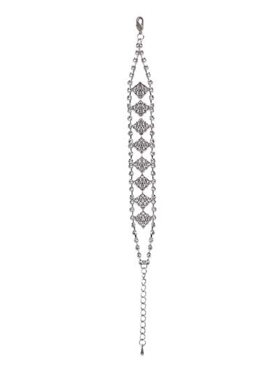 Gleaming Diamonds Bracelet