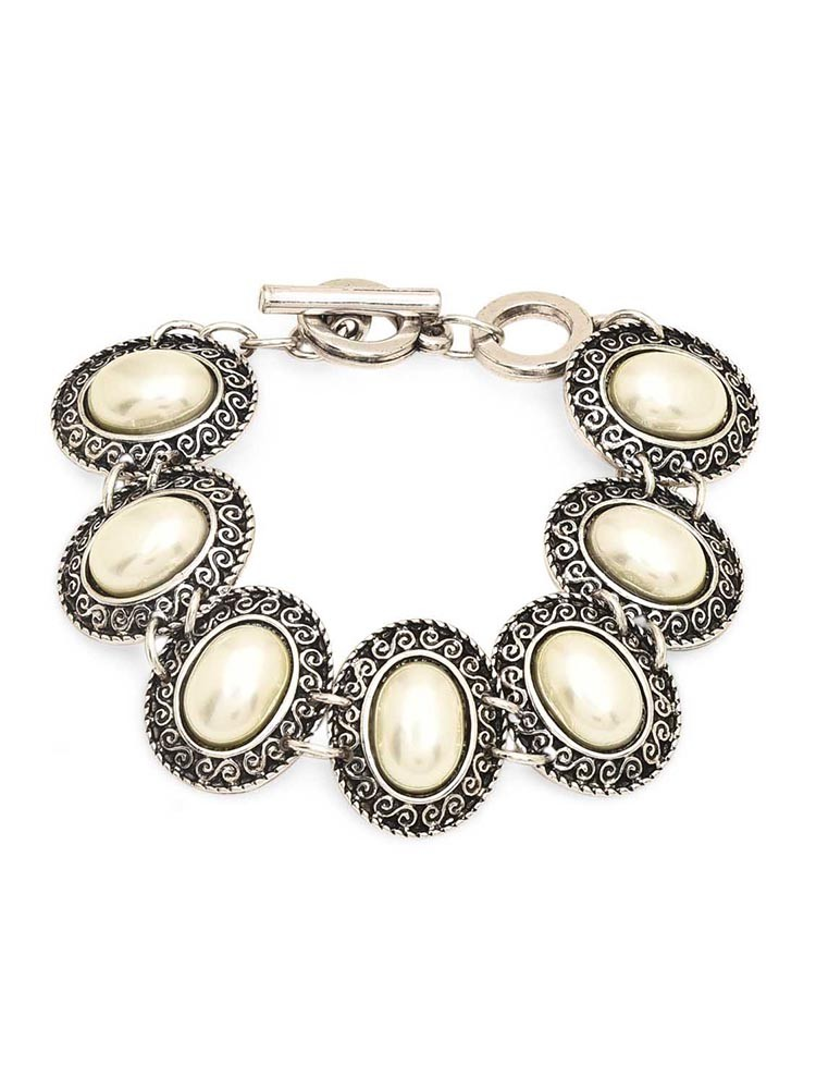 Pale Yellow Stone Bracelet