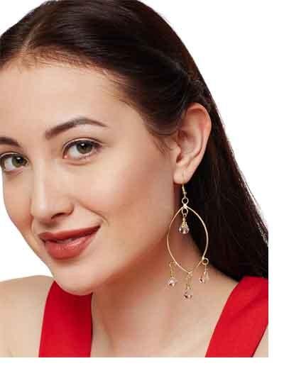 Minimal Stone Drops Handmade Western Earrings