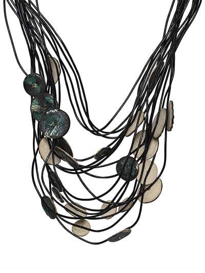 Hot Mess Stone Accent Statement Necklace