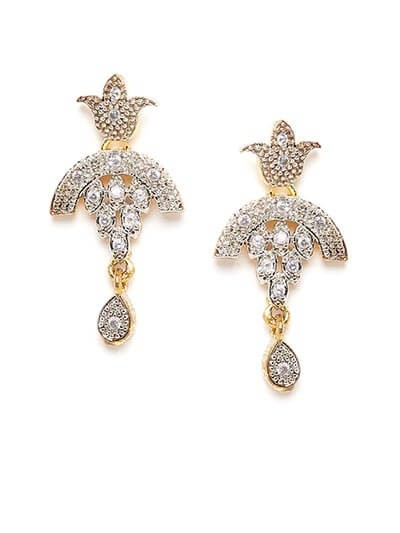 Classic American Diamond Earrings
