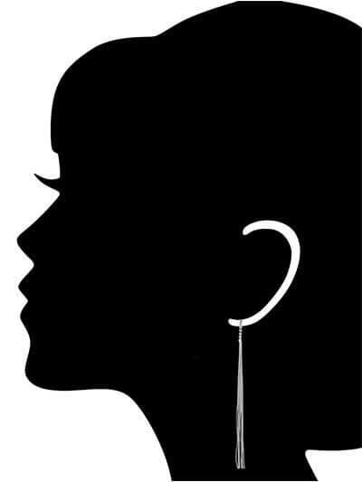 Shoulder Long Western Earrings