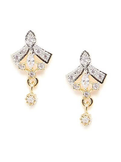American Diamond Classic Stud Earrings