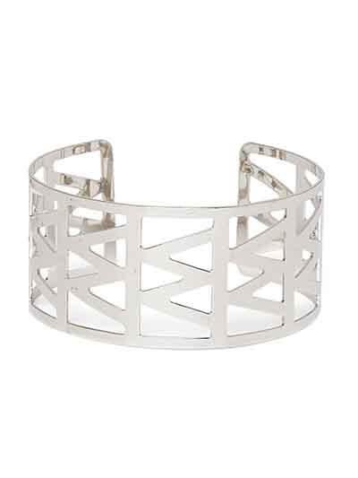 Classic Silver Cuff Bracelet For Women