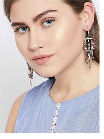 Tribal Jewellery Long Earrings
