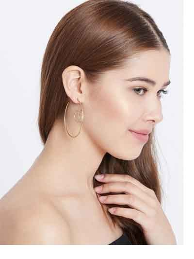 Classic Golden Hoop Earrings