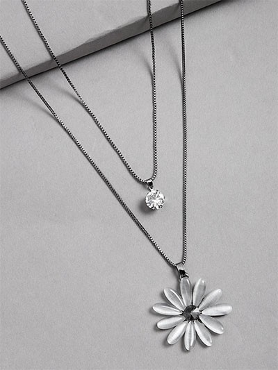 Floral Layered Necklace