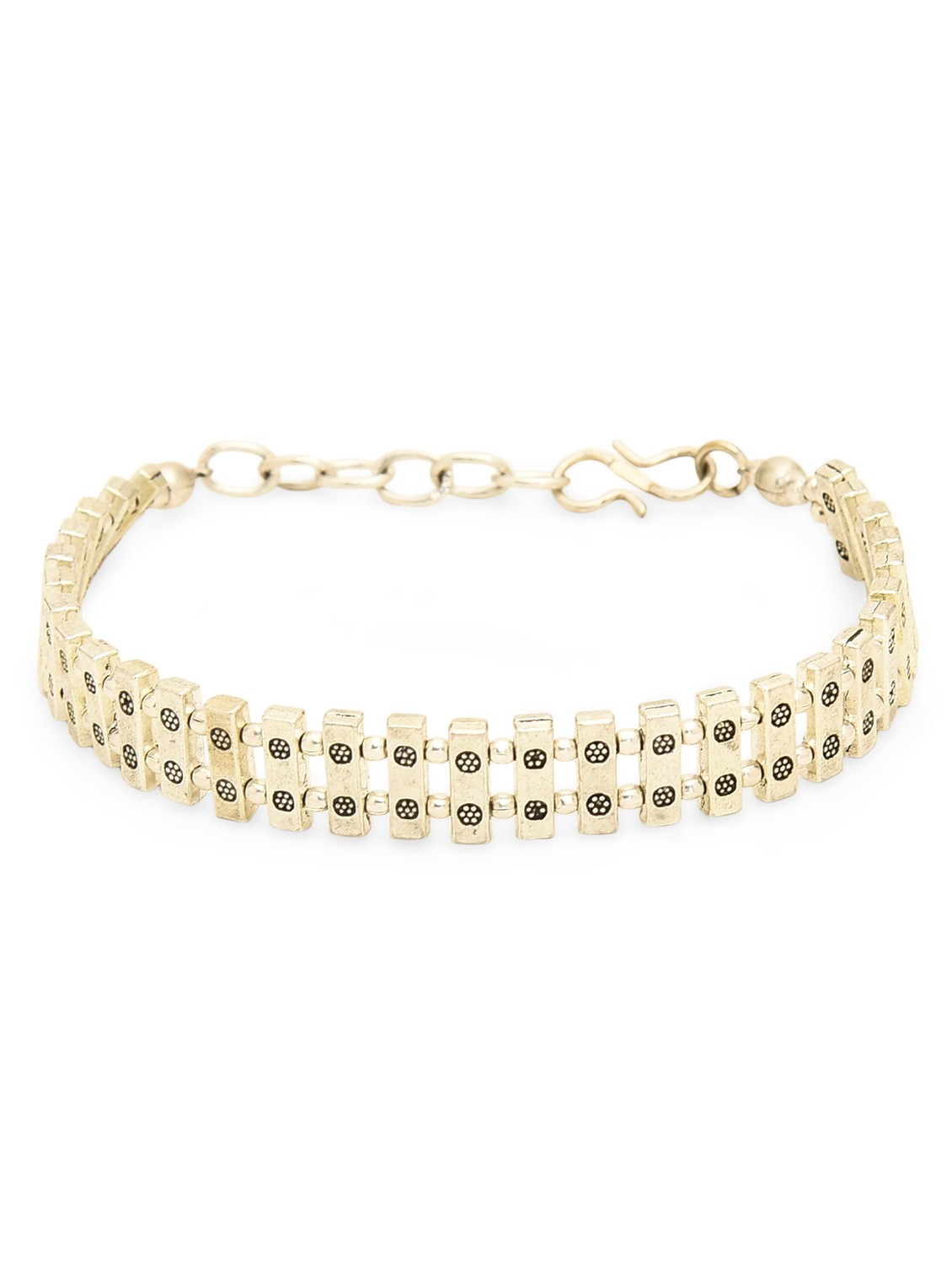 Golden Dominos Bracelet