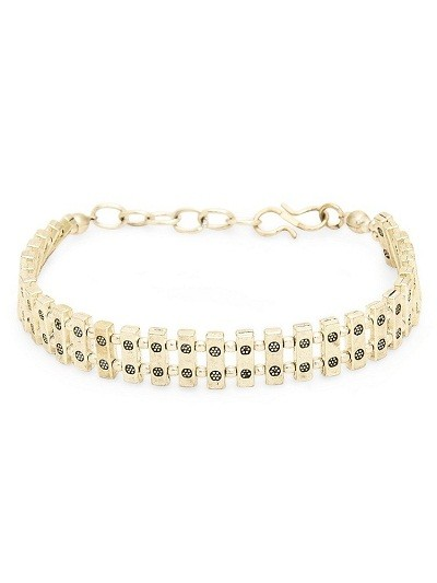 Golden Dominos Bracelet