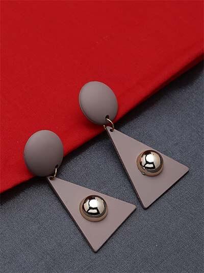 Lightweight Geometrical Dangle Earrings
