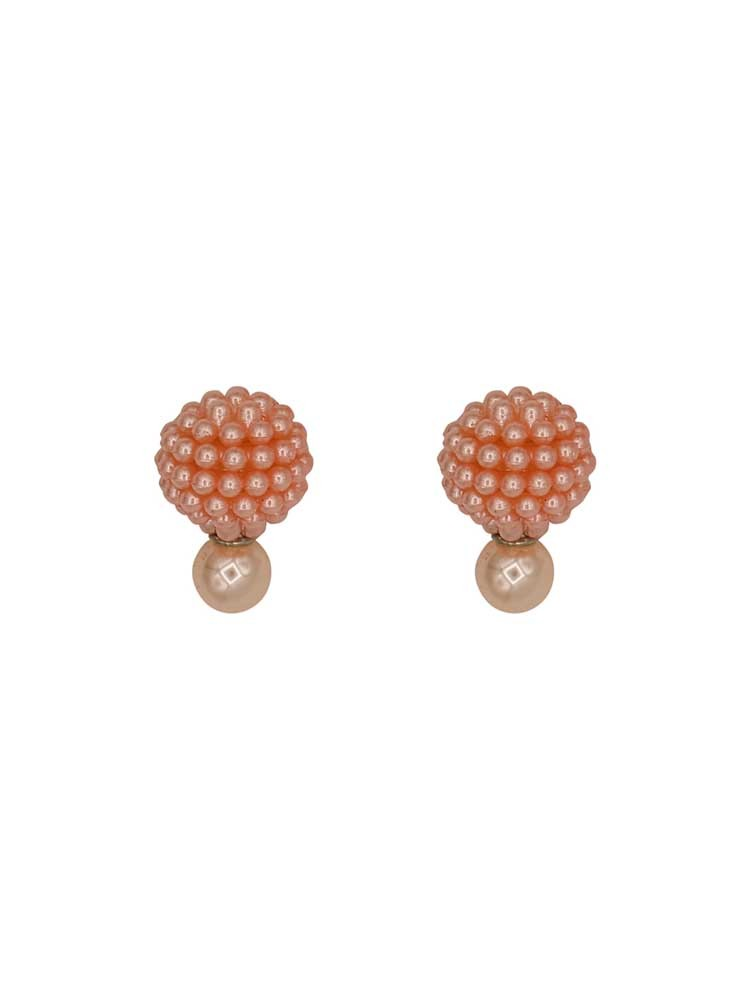 Rose Pearl Interchangeable Western Earrings