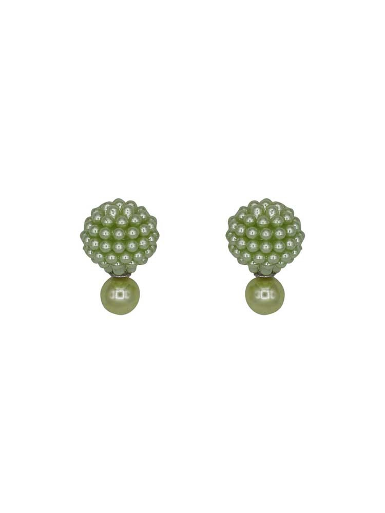 Sea Green Pearl Interchangeable Western Earrings