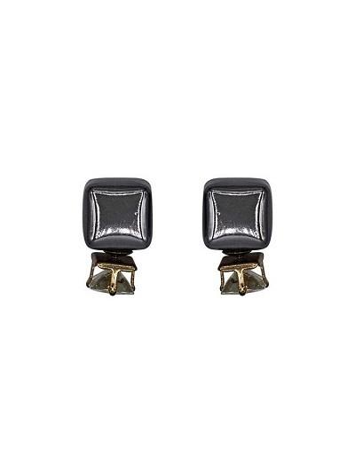 Silver Disco Interchangeable Drops Western Earrings