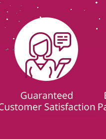 Gauranteed Customer satisfectiontisfection