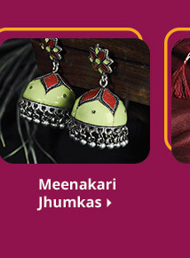 meenakri earrings