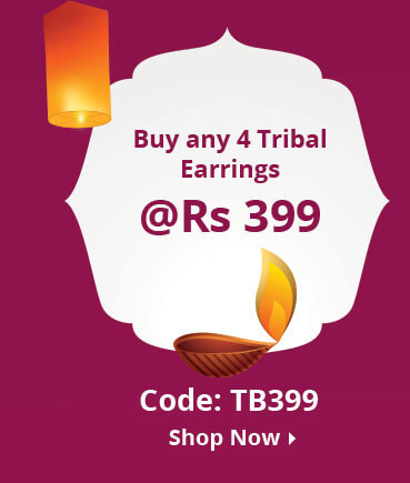 4 tribal jewellery at 399