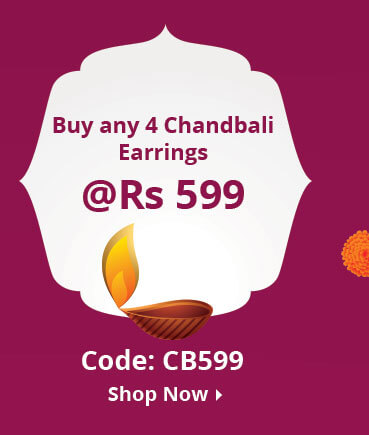 4 Chandbali Jewellery at 599