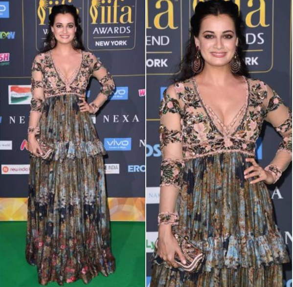 Dia Mirza at IIFA awards in New York
