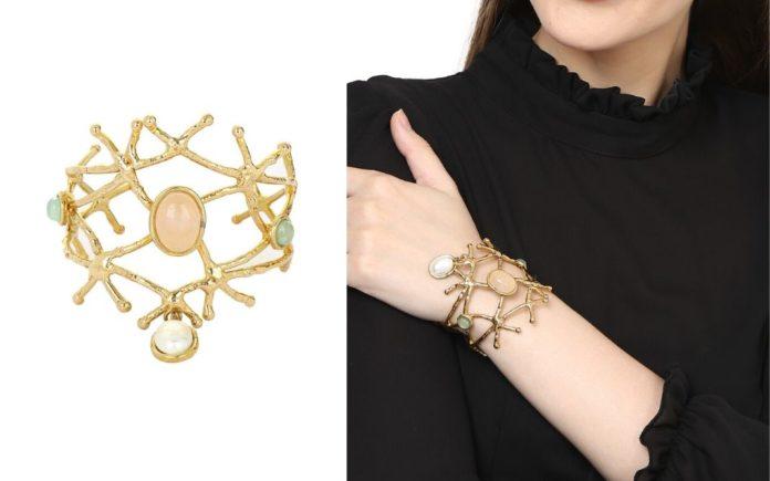 Look classy with ZeroKaata's Spiral Brass Bracelet
