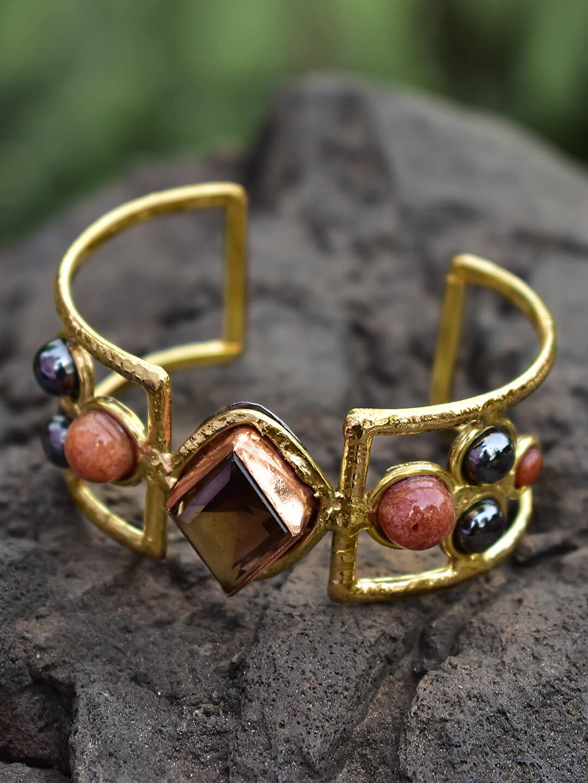 Festive Season Jewelry-Cuff Bracelet