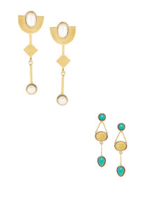 Jewellery Combo Deals-2 Pairs of Contemporary Earrings